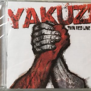 "Albumcover Yakuzi ""Thin Red Line"" 2008"