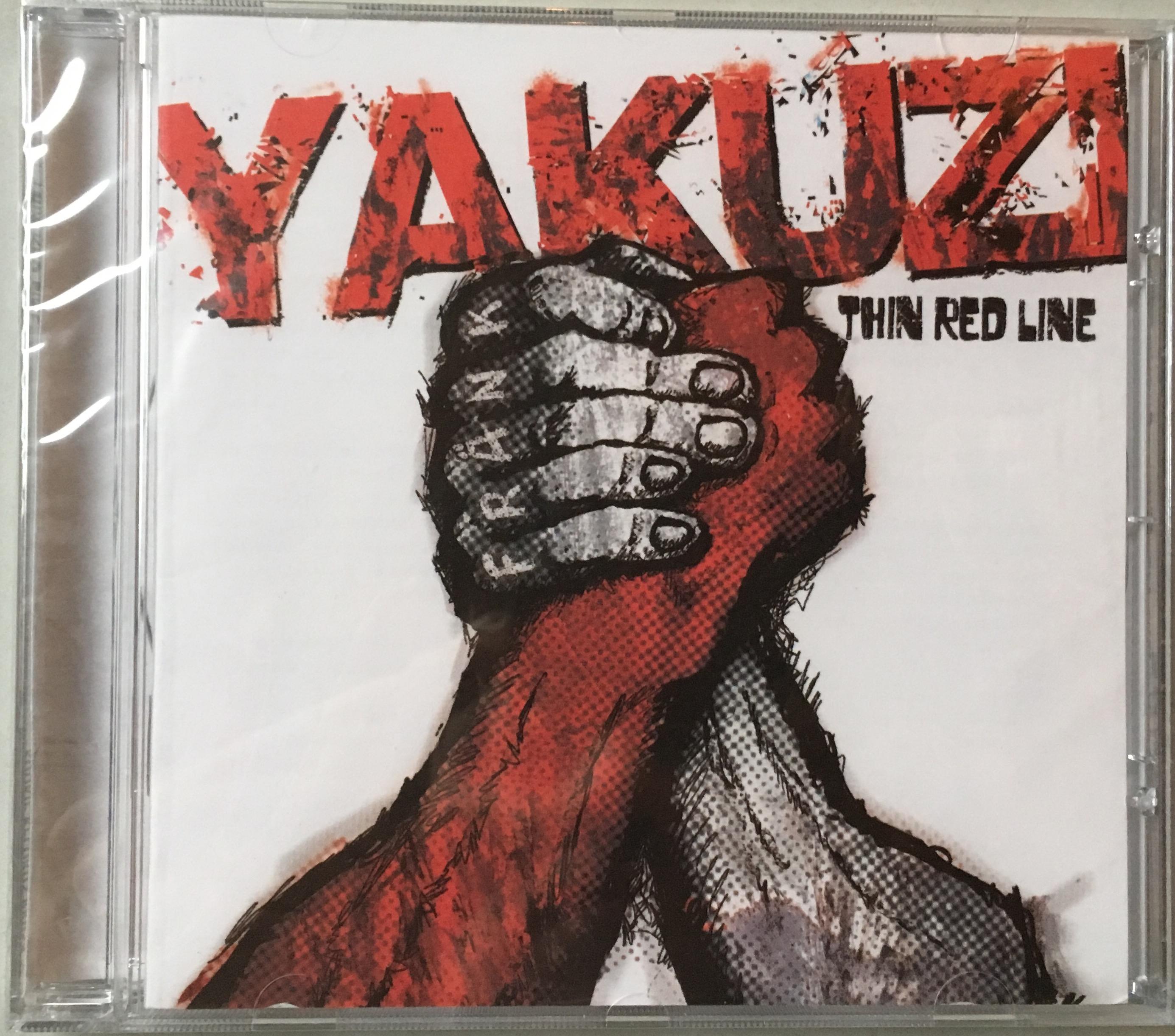 """Albumcover Yakuzi """"Thin Red Line"""" 2008"""